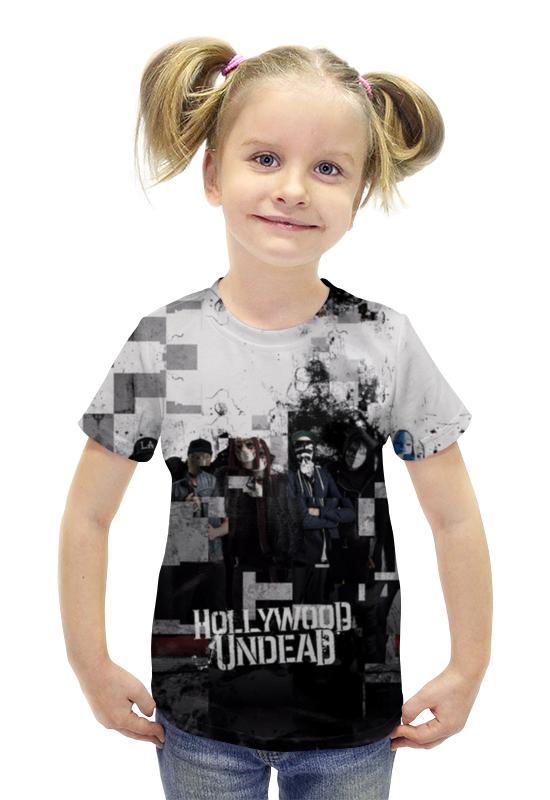 все цены на  Футболка с полной запечаткой для девочек Printio Hollywood undead  онлайн