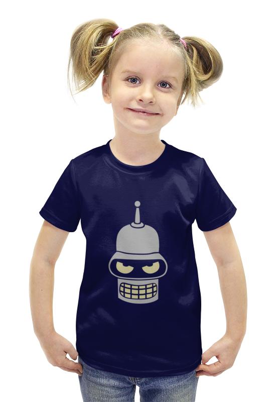 Футболка с полной запечаткой для девочек Printio Iamabender футболка с полной запечаткой для девочек printio пртигр arsb