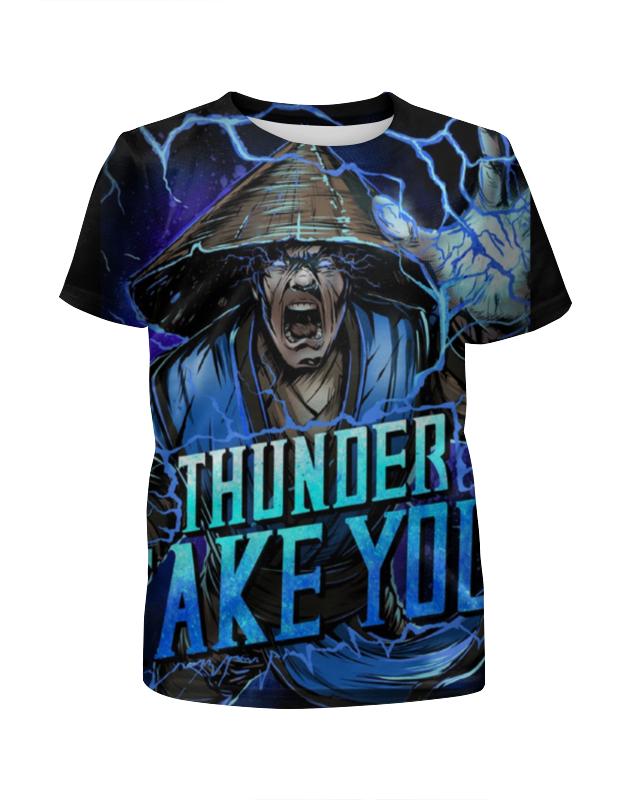 Футболка с полной запечаткой для девочек Printio Mortal kombat футболка с полной запечаткой printio hatred