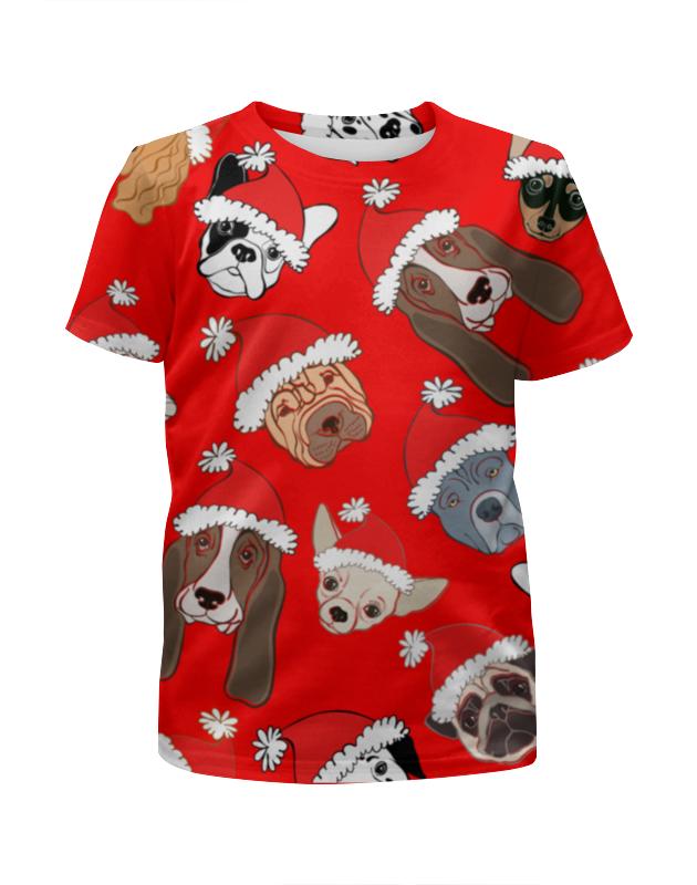 Футболка с полной запечаткой для девочек Printio Собаки футболка с полной запечаткой для девочек printio собаки и кролики