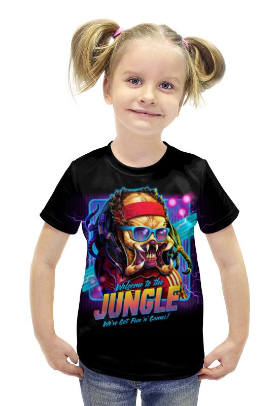 Футболка с полной запечаткой для девочек Printio Predator футболка с полной запечаткой для девочек printio spawn