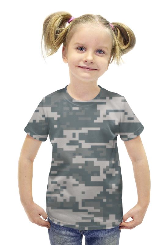 Футболка с полной запечаткой для девочек Printio Камуфляж футболка с полной запечаткой для девочек printio камуфляж
