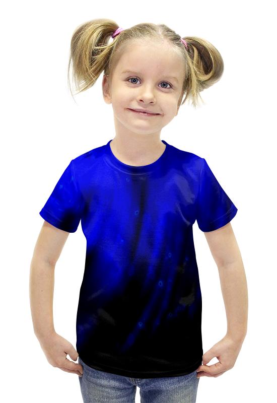 Футболка с полной запечаткой для девочек Printio Бездна футболка с полной запечаткой для девочек printio пртигр arsb
