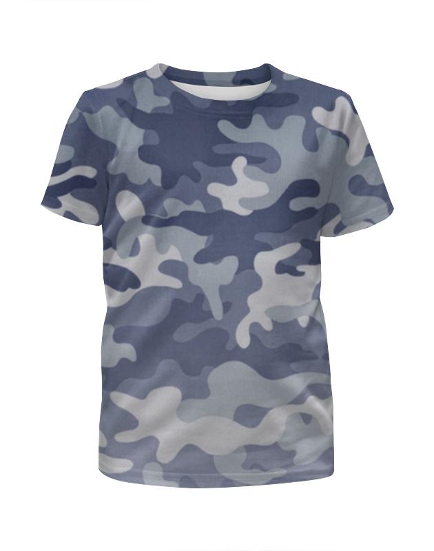 Printio Камуфляж футболка с полной запечаткой для девочек printio модный камуфляж