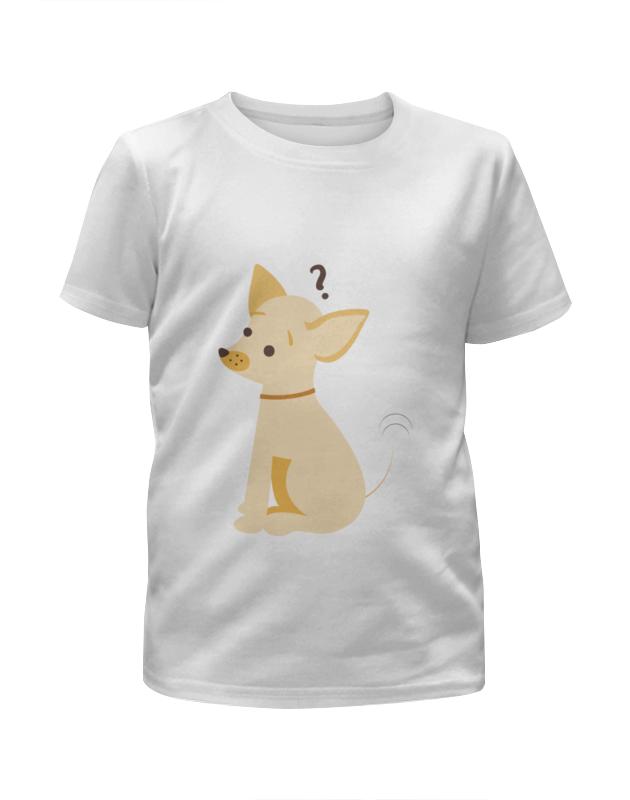 Футболка с полной запечаткой для девочек Printio Щенок футболка с полной запечаткой для девочек printio щенок