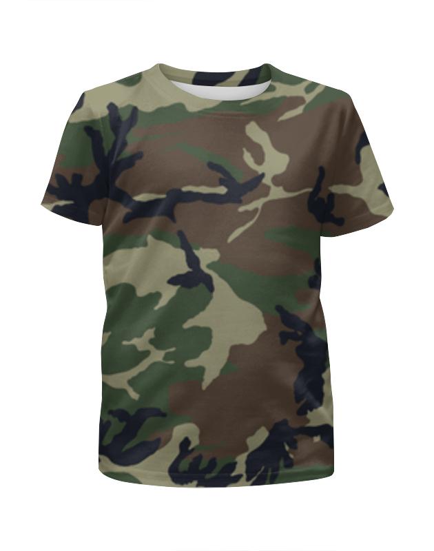Футболка с полной запечаткой для девочек Printio Камуфляж футболка с полной запечаткой для девочек printio модный камуфляж