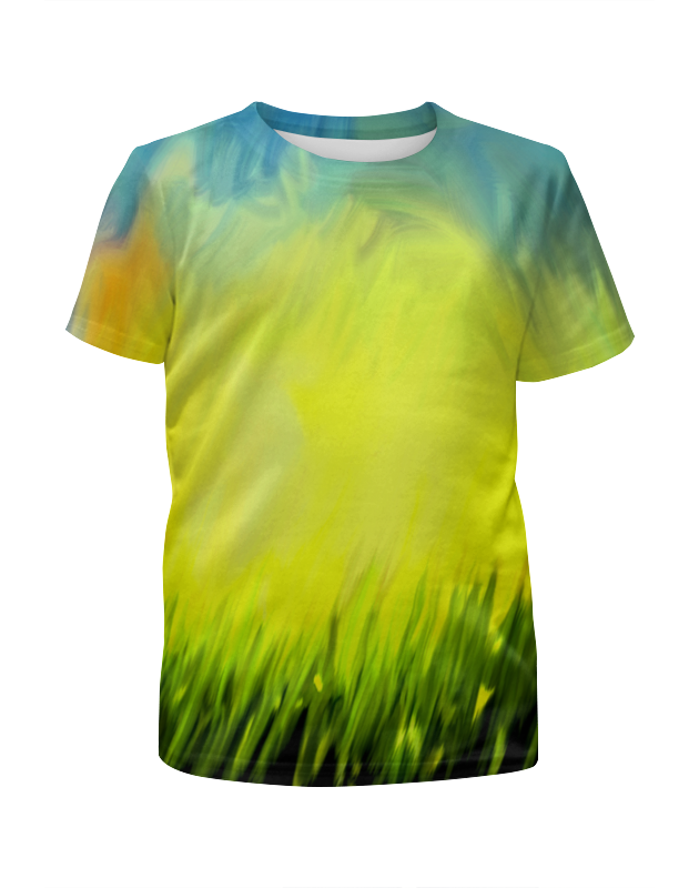 Футболка с полной запечаткой для девочек Printio Краски лета футболка с полной запечаткой для девочек printio жидкие краски