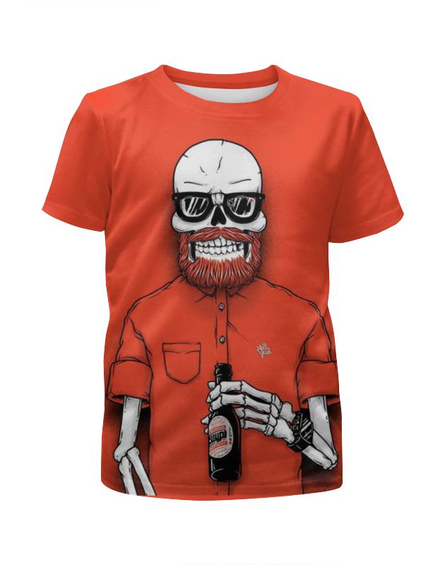 Футболка с полной запечаткой для девочек Printio Bones brigade футболка с полной запечаткой для девочек printio пртигр arsb