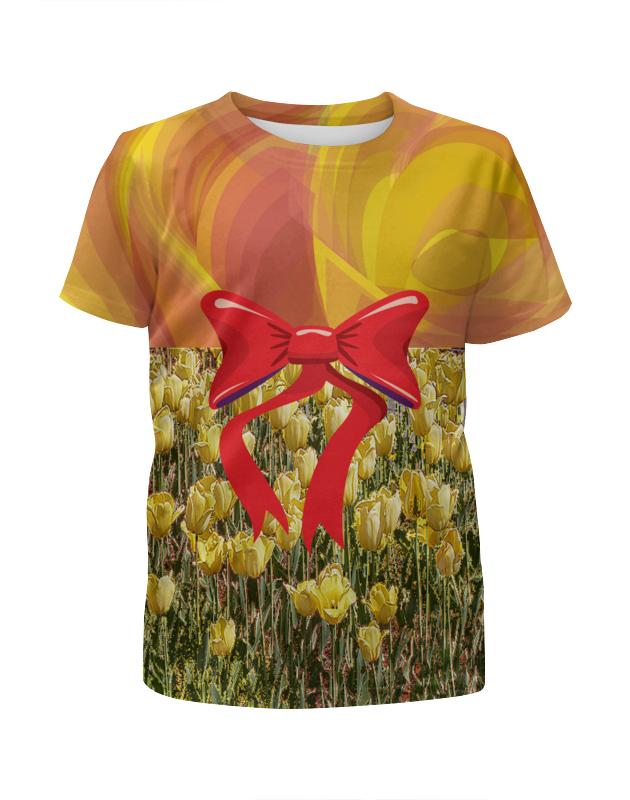 Футболка с полной запечаткой для девочек Printio Кокетка. футболка с полной запечаткой для девочек printio морковный фреш