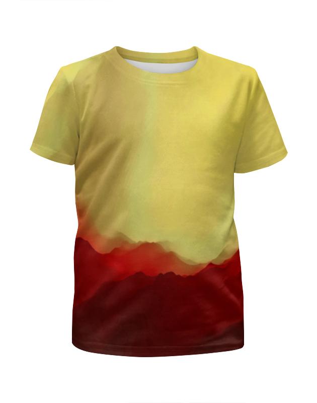 Футболка с полной запечаткой для девочек Printio Необычные краски футболка с полной запечаткой для девочек printio жидкие краски