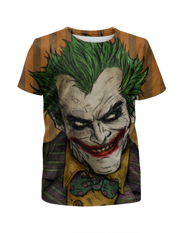 Футболка с полной запечаткой для девочек Printio Джокер / joker детский костюм озорного клоуна 34