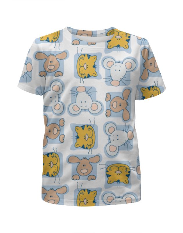 Футболка с полной запечаткой для девочек Printio Кошки мышки футболка с полной запечаткой для мальчиков printio кошки мышки