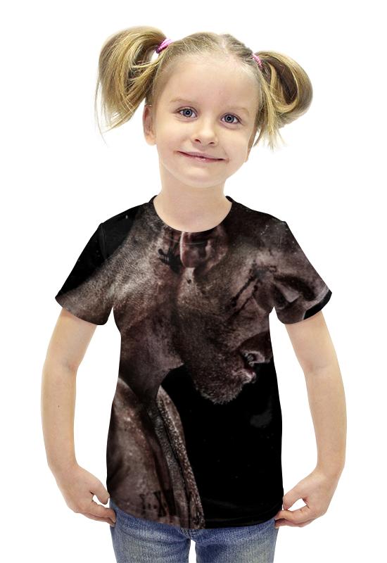 Футболка с полной запечаткой для девочек Printio Southpaw футболка с полной запечаткой для девочек printio пртигр arsb