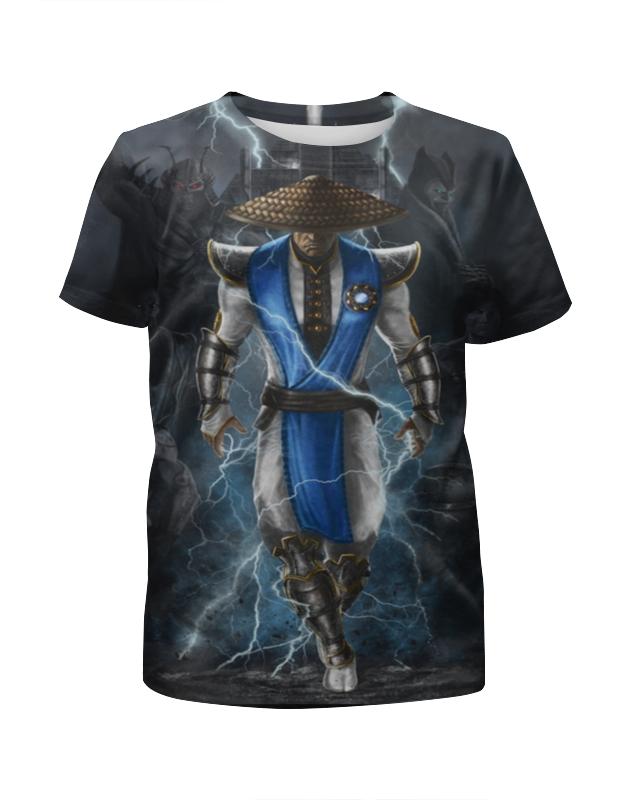 Футболка с полной запечаткой для девочек Printio Mortal kombat цена и фото
