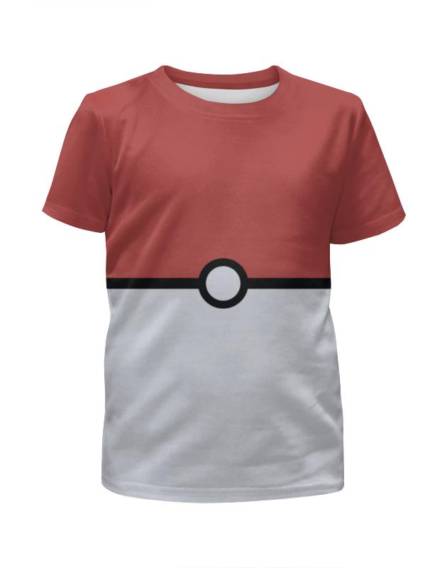 Футболка с полной запечаткой для девочек Printio Pokemon цена и фото