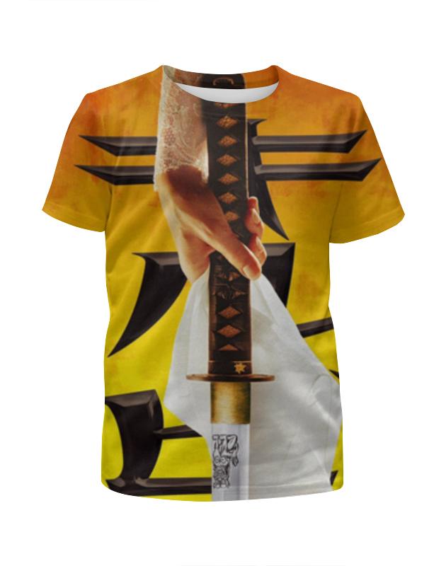 Футболка с полной запечаткой для девочек Printio Убить билла (kill bill) футболка для беременных printio убить билла