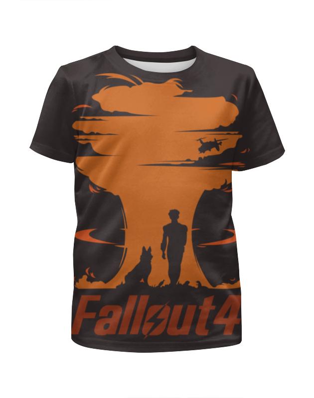 Футболка с полной запечаткой для девочек Printio Fallout 4 видеоигра для ps4 fallout 4