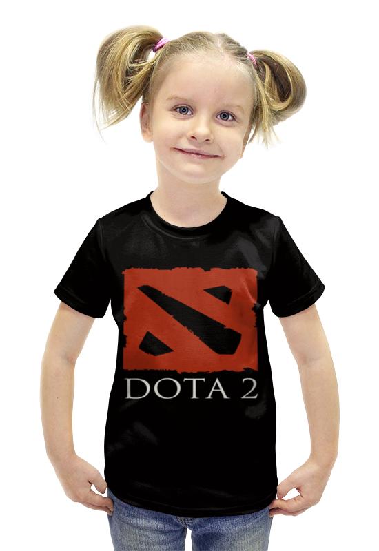 Футболка с полной запечаткой для девочек Printio Dota2 футболка с полной запечаткой для девочек printio пртигр arsb