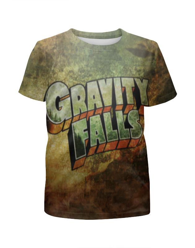 футболка с полной запечаткой для девочек printio мейбл gravity falls Футболка с полной запечаткой для девочек Printio Gravity falls