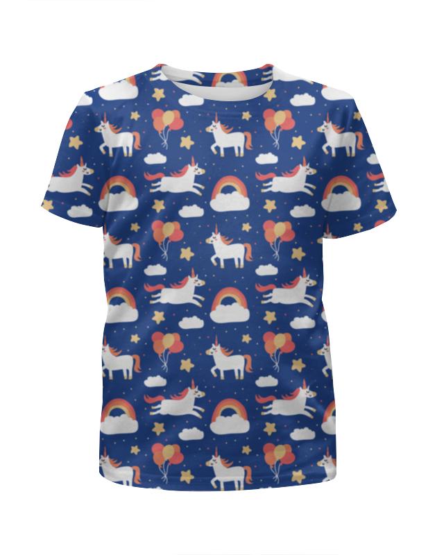 Printio Единороги футболка с полной запечаткой для девочек printio единороги