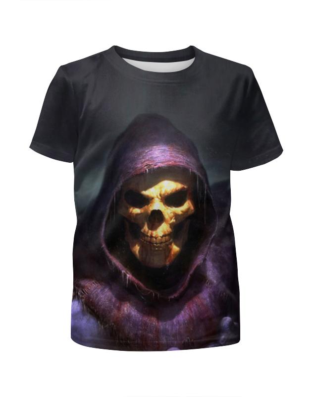 Printio Скелет футболка с полной запечаткой для девочек printio скелет с гитарой