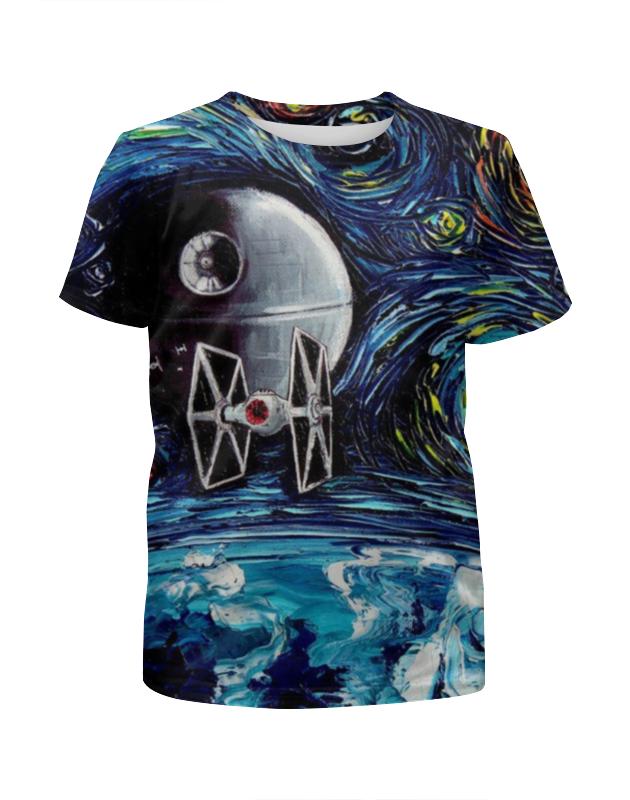 Футболка с полной запечаткой для девочек Printio Star wars футболка с полной запечаткой для девочек printio дайвинг