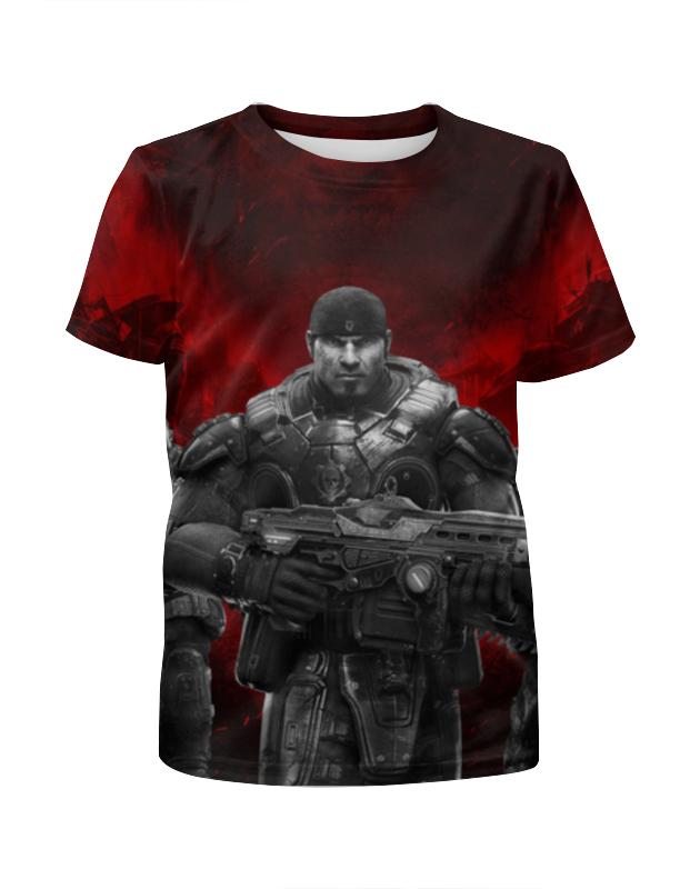 Футболка с полной запечаткой для девочек Printio gears of war футболка с полной запечаткой мужская printio war master