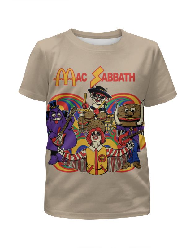 Printio Mac sabbath/black sabbath цена