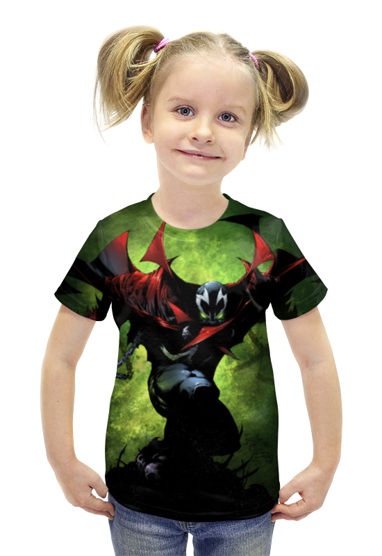 Футболка с полной запечаткой для девочек Printio Спаун (spawn) футболка с полной запечаткой printio bats spawn arsb