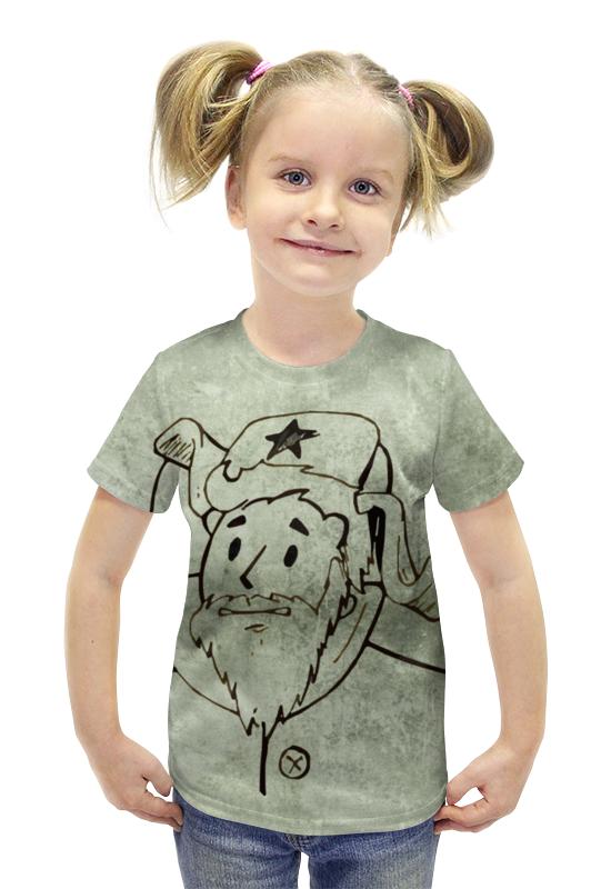 Футболка с полной запечаткой для девочек Printio Fallout kuz'mich футболка с полной запечаткой для девочек printio fallout