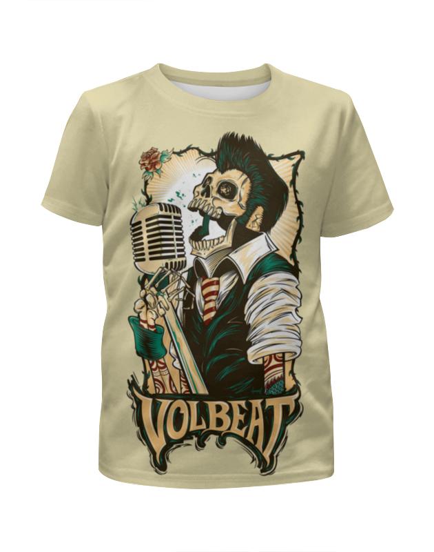 Printio Rock zombie футболка с полной запечаткой для девочек printio zombie cat