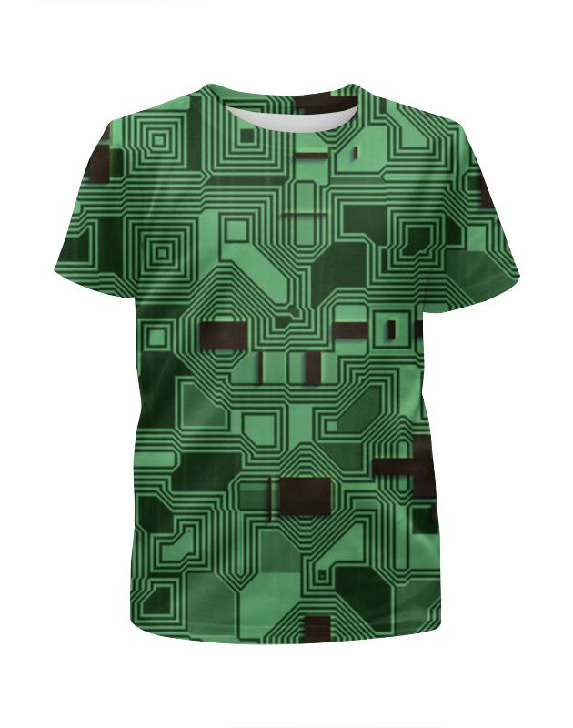 Футболка с полной запечаткой для девочек Printio Дорожки футболка 3д на барабашова