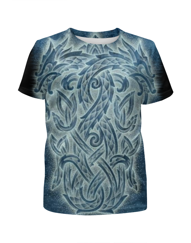 Футболка с полной запечаткой для девочек Printio Драконы!!! футболка print bar китайские драконы