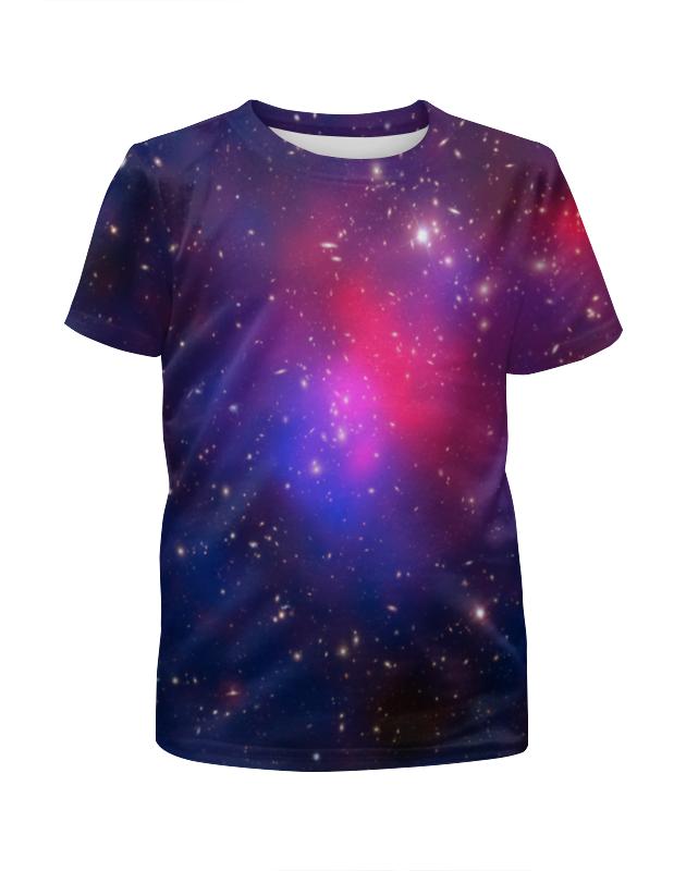 Футболка с полной запечаткой для девочек Printio Звездное небо картленд б звездное небо гонконга