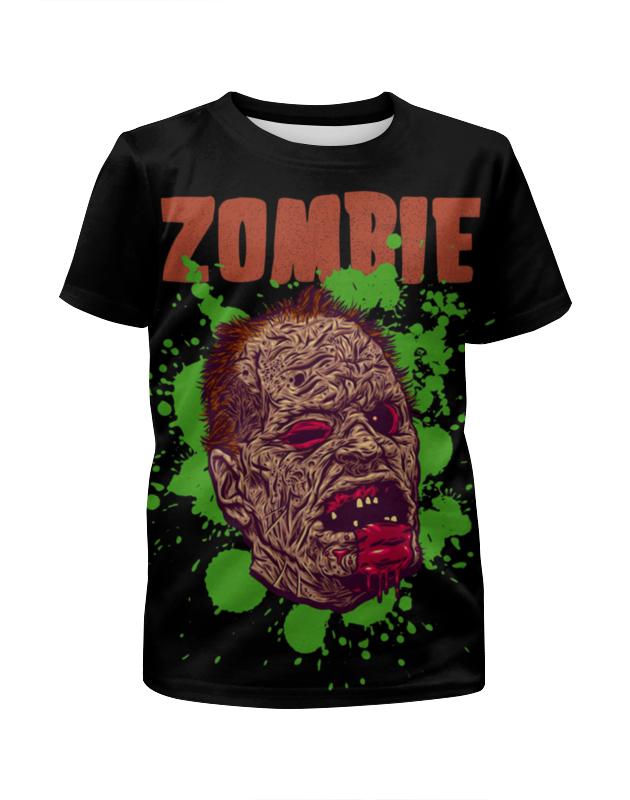 Printio Зомби арт футболка с полной запечаткой для девочек printio зомби геймер