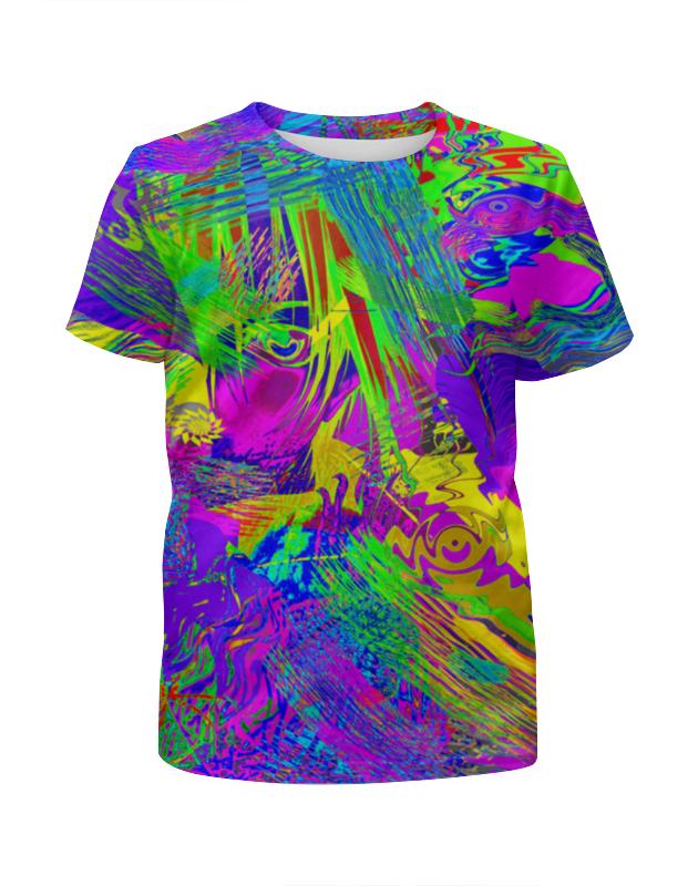 Футболка с полной запечаткой для девочек Printio Фантазия футболка print bar новогодняя фантазия