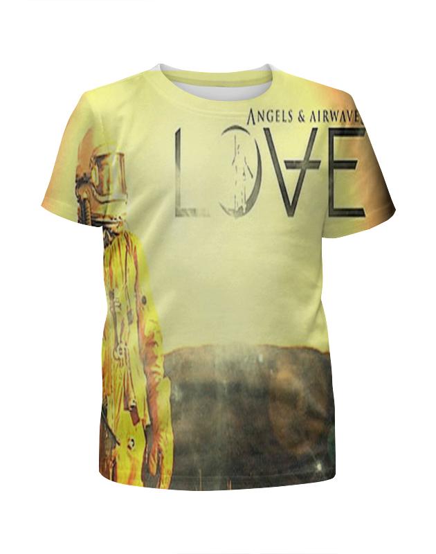 Футболка с полной запечаткой для девочек Printio Astronaut angels and airwaves футболка с полной запечаткой для девочек printio astronaut angels and airwaves