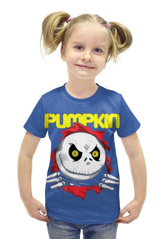 Футболка с полной запечаткой для девочек Printio Pumpkin футболка с полной запечаткой для девочек printio spawn