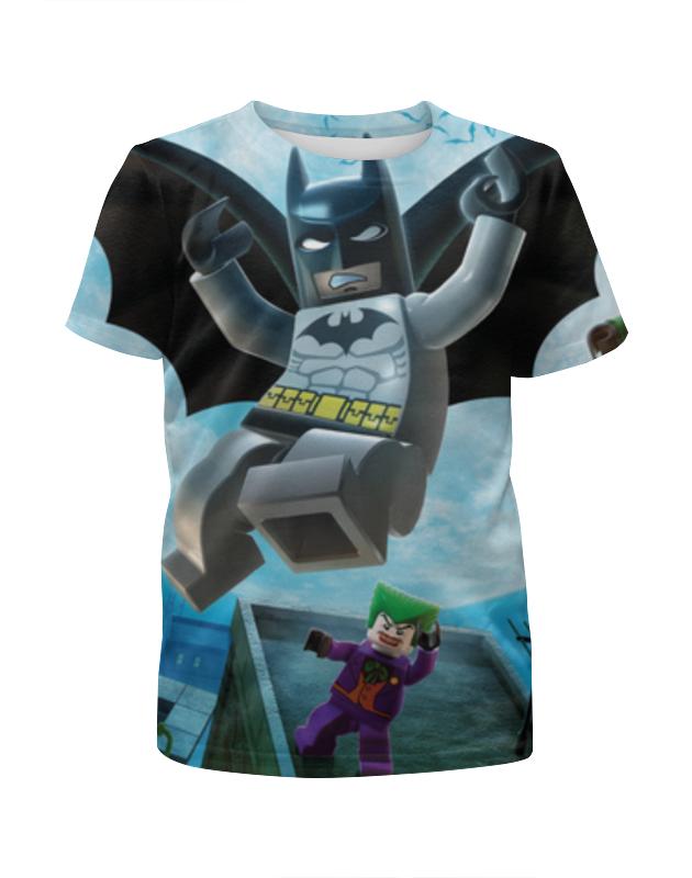 Футболка с полной запечаткой для девочек Printio Batman футболка с полной запечаткой мужская printio the lego batman movie