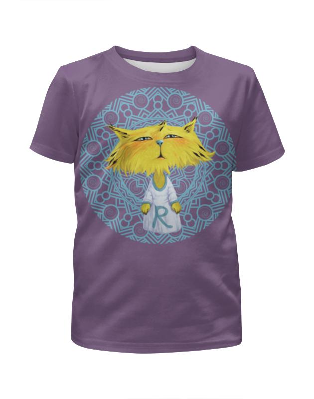 Футболка с полной запечаткой для девочек Printio Рысёнок футболка с полной запечаткой для девочек printio дом милый дом