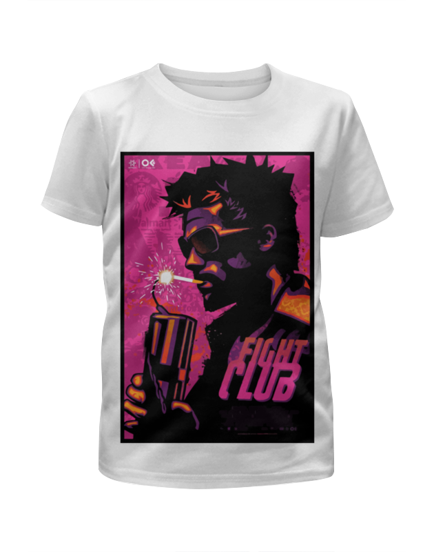 Футболка с полной запечаткой для девочек Printio Бойцовский клуб (fight club) free shipping 100pcs bc847b sot 23 original npn transistor sot23 bc847 transistor diodes smd npn general purpose transistors