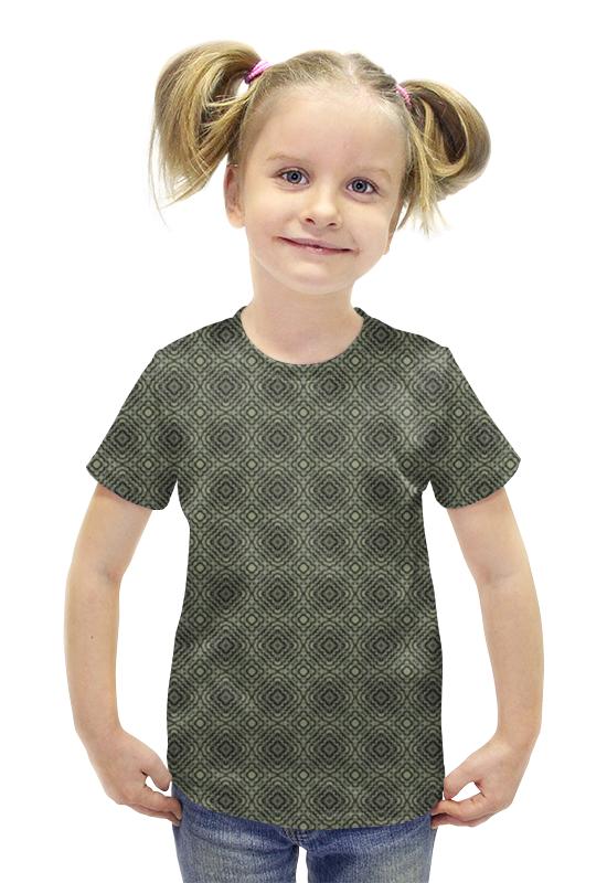 Футболка с полной запечаткой для девочек Printio Flux футболка с полной запечаткой для девочек printio пртигр arsb