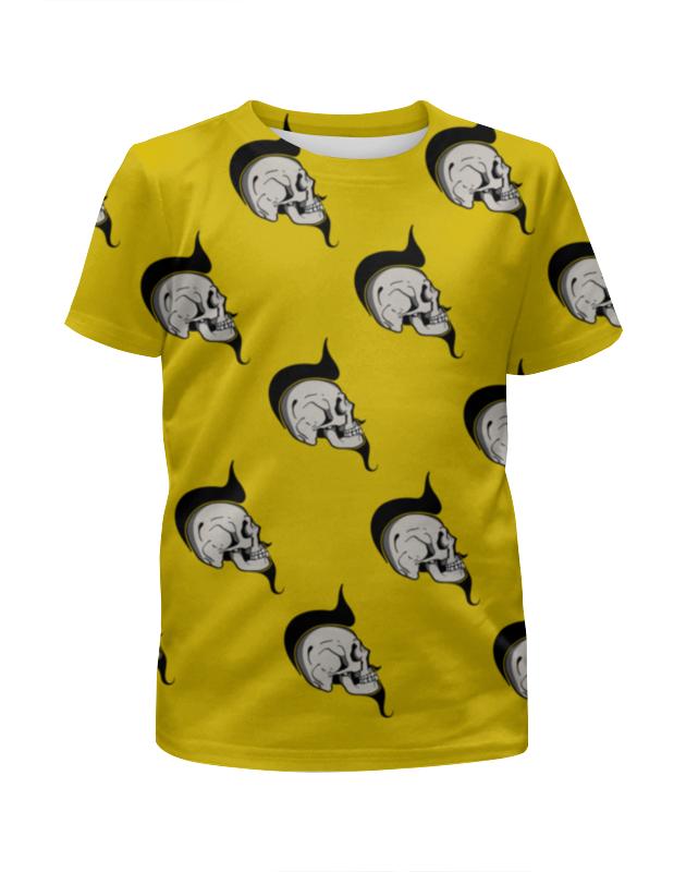 Футболка с полной запечаткой для девочек Printio Skulls