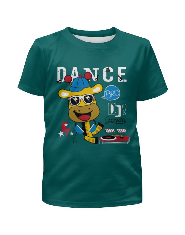 Футболка с полной запечаткой для девочек Printio Dance футболка с полной запечаткой для девочек printio дефстроук ликвидатор