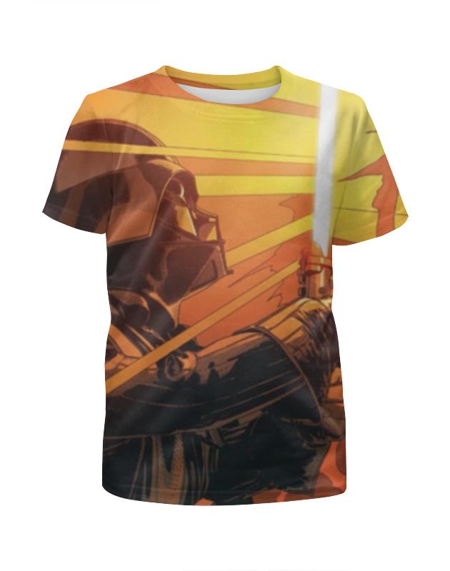 Футболка с полной запечаткой для девочек Printio Дарт вейдер (звездные войны) футболка с полной запечаткой для девочек printio дарт вейдер звездные войны