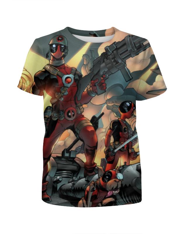 Футболка с полной запечаткой для девочек Printio Deadpool cartoon футболка с полной запечаткой для девочек printio deadpool