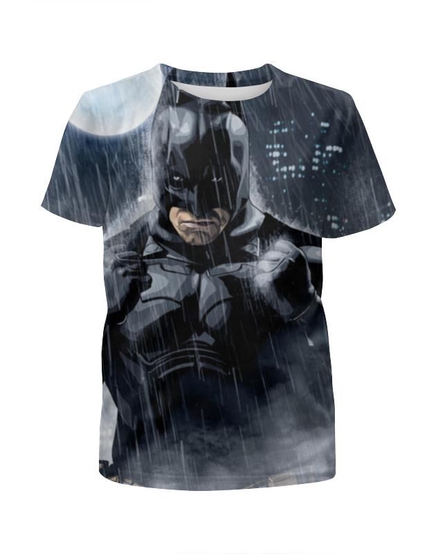 Printio Batman футболка с полной запечаткой для девочек printio batman city