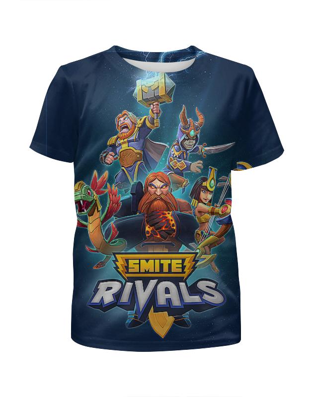 Printio Smite rivals. видеоигры футболка с полной запечаткой для девочек printio super mario видеоигры