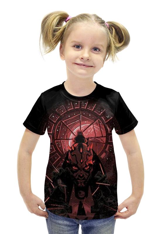 Футболка с полной запечаткой для девочек Printio Демон футболка с полной запечаткой для девочек printio пртигр arsb