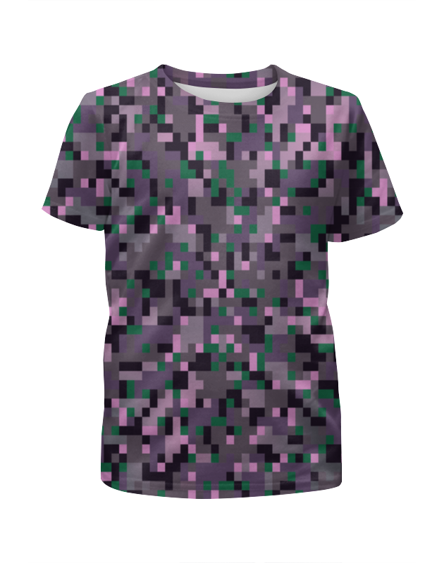 Футболка с полной запечаткой для девочек Printio Fashion pixel футболка с полной запечаткой для девочек printio пртигр arsb
